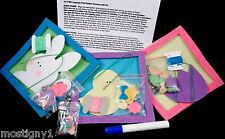 Holiday Felt Easter Frames Craft Kit Set - (Pack of 3) Plus Bonus