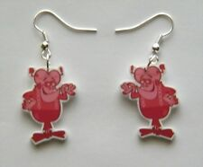 New Retro  Captain Cruch Cereal Frankenberry Cereal #2  Earrings