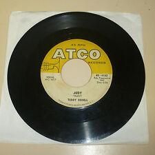 ROCKABILLY 45RPM RECORD - TEDDY REDELL - ATCO 6162