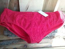 BNWT Womens Elomi Size 24 Red  Bikini Bottoms