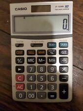 Casio Jf-100Ms Calculator. 10 digits, 2 way Power.