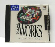 PC CD ROM Microsoft Home Works Orig Version 3.0 1994 Vintage Software NEW SEALED