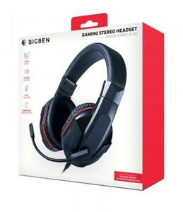 Bigben Nintendo Switch / Switch Lite Stereo Gaming Headset schwarz BB358988