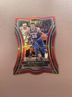 2018-19 Panini - Select Basketball: Kevin Knox - Red Die Cut #/175