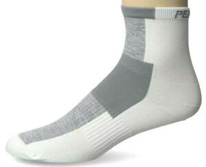 Pearl iZUMi Elite MULTISPORT Cycling Socks, White, Med, 1.99 shipping