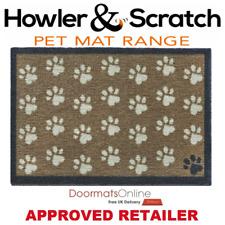 Howler & Scratch 50x75cm (SMALL PAWS 2) Door and Floor Mat Machine Washable