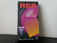 RCA T-120 6 Hour Blank VHS Video Tape - New/Sealed