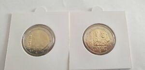 2 euro commémorative Luxembourg choisir une année ( lire description annonce )