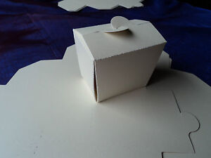 25 x IVORY FAVOUR/GIFT/BABY SHOWER/PLACE SETTING BOXES  - DIY