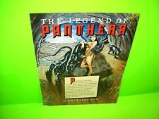 Gottlieb PANTHERA Original NOS 1980 Arcade Game Flipper Pinball Machine Flyer