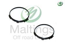 defender headlamp bezels defender headlamp rings surrounds stc3018 wipacx2