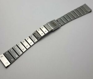 Genuine Stainless Steel  Cartier Santos  Bracelet 18mm READ DESCRIPTION