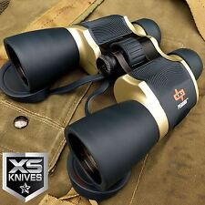 Day/Night 20x60 High Quality Outdoor Bronze Binoculars w/Pouch by Perrini