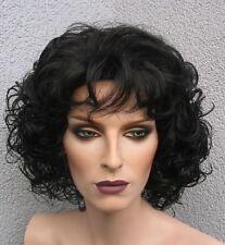 Diva Dream - Göttliche, voluminöse TOP Locken Perücke in schwarz