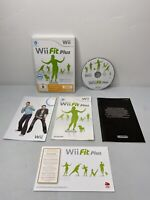 Wii Fit Plus Nintendo Wii 2009 - Complete with Manual 5 in 1 LANGUAGES! Tested!
