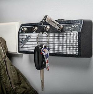 Fender Blues Guitar Keychain Holder Key Storage Jack II Rack 2.0 Electric Key