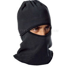 Cagoule tour cou Masque noir cache nez oreilles pr moto velo ski sports hiver