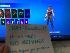Renegade Raider + Black knight Fortnite Acc RAFFLE og Sparkle specialist
