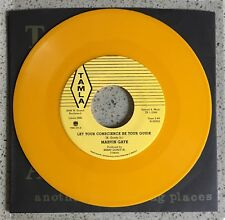 """Marvin Gaye RARE Limited Yellow TAMLA reissue 7"""" Third Man Records"""