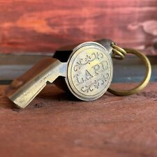LAPD (Los Angeles Police Department) 1920's Brass Police Whistle