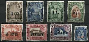 Aden 1951 SG.20-27 M/M
