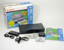 Canon BJC 85 Bubble Jet Color Mobile Injet Printer with extra ink