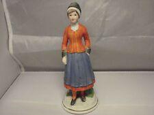 Swedish folk dress girl in Porcelain  from Ljung district Vastergotland Sweden