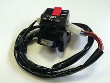 """Original Yamaha Interruptor de manillar derecho 3/Run,Luz,Motor de arranque/"""""""