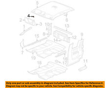 GM OEM Interior-Sunvisor Nut 10056725