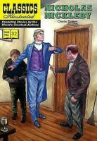 Nicholas Nickleby Classics Illustrated Libro en Rústica Charles Dickens