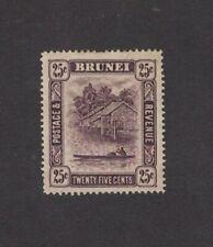 Brunei 30 - Twenty Five Cent Single. Mint Hinged.     #02 BRUN30