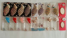 Bling Rhinestone Hard Case Cover For iphone 5S 5C Samsung Galaxy S3
