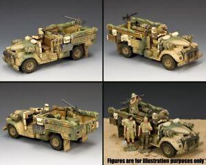 KING & COUNTRY EIGHTH ARMY EA120 LONG RANGE DESERT GROUP CHEVROLET TRUCK SET MIB