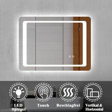 LED Wandspiegel mit Beleuchtung Badezimmerspiegel Badspiegel 80x60cm Beschlagrei