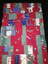 Bassinet Blankets Infant Baby Changing Pads Bears one side and Flowers.