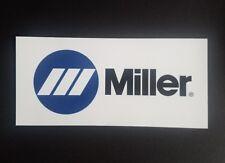 1 Miller welder sticker Mig Tig Arc Helmet Welding Toolbox Truck