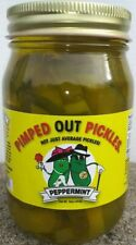 Pimped Out Pickles - 1 (Peppermint) 16oz Jar (Unlimited Supply In Stock)