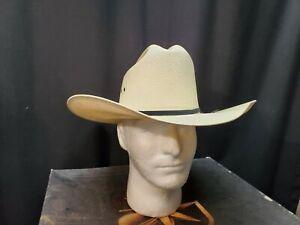 Resistol Western Women's Hat Size 6 7/8 Long Oval