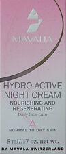 Mavalia Hydro Active Crema de noche ensayo de tamaño 5 Ml
