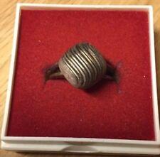 alter 925er Silber Ring mit klassischem Muster