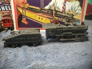 "Lionel No. 1662 And 2203T ""Lionel Lines"" 0-4-0 Steam Switcher Black Save my shop"