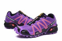 HOT Women's Salomon SpeedCross 3 CS Running Outdoor Off-road Athletic Shoes