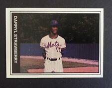 Darryl Strawberry 1982 TCMA Jackson Mets #21 Minor League rookie card Nm RARE