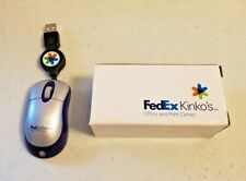 Mini 3-Inch Optical Mouse with retractable 24-inch cable FedEx Kinko's Boxed