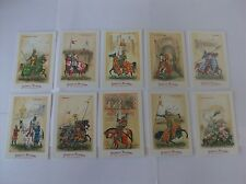Feudal Lords a complete collection of  10 cards
