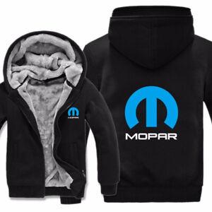 NEW Men's Winter MOPAR Hoodies Fashion Coat Wool Liner Jacket Warm SUPER OFFER