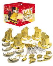 Gadget Capodanno, Set  Accessori Festa Buon Anno Oro PS 19315