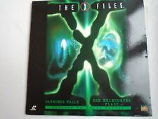 THE X FILES 2 episodes Darkness Falls/Erlenmeyer Flask LASERDISC NTSC