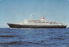 Cartolina Nave M/S Ivan Franko Black sea Steamship line Odessa 1967