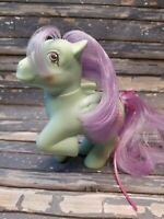 Vintage G1 MLP My Little Pony Sundae Best Peppermint Crunch Ponies Scented